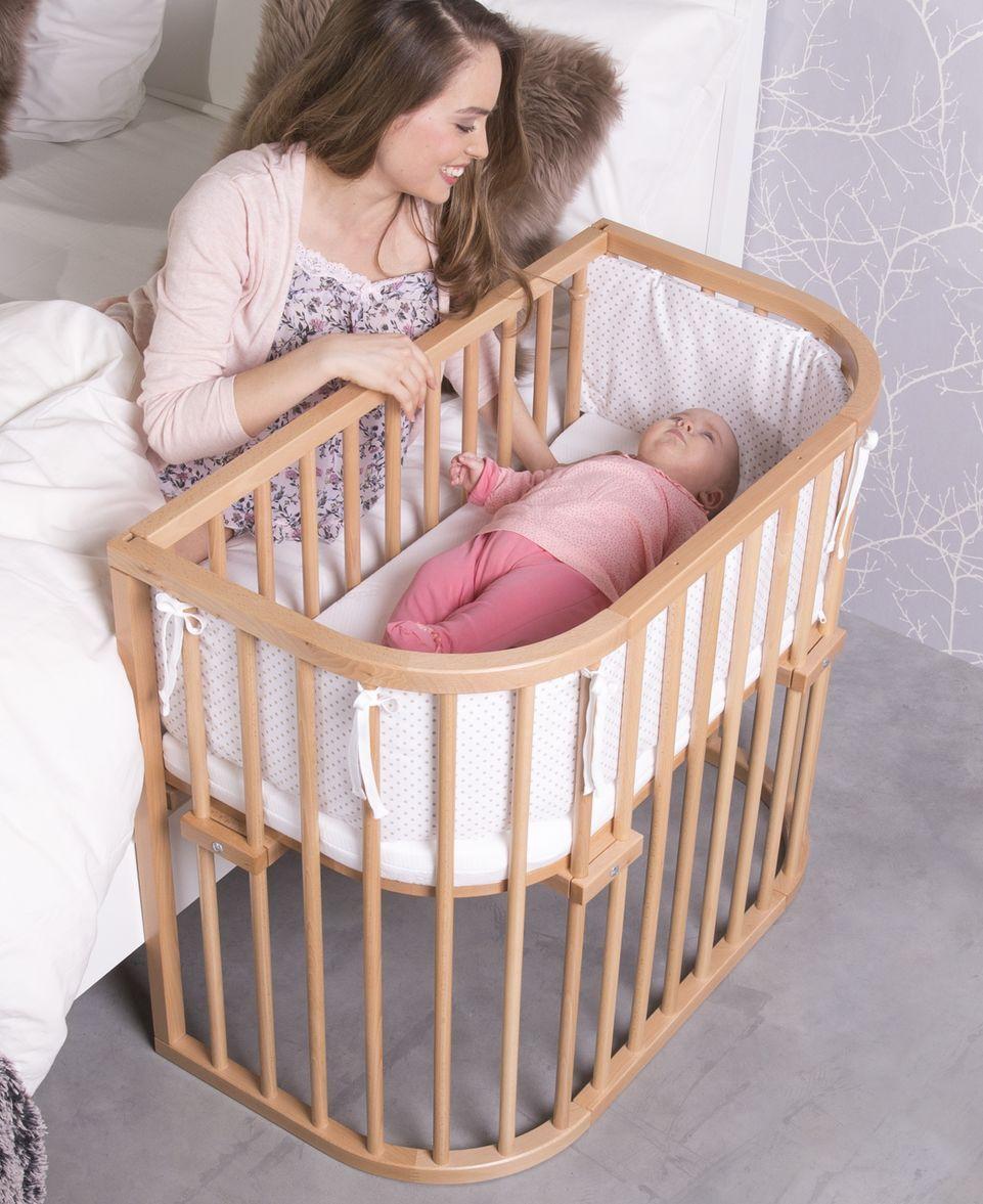 Babybay Comfort Buche Babybay Babybay Beistellbett Und Beistellbett