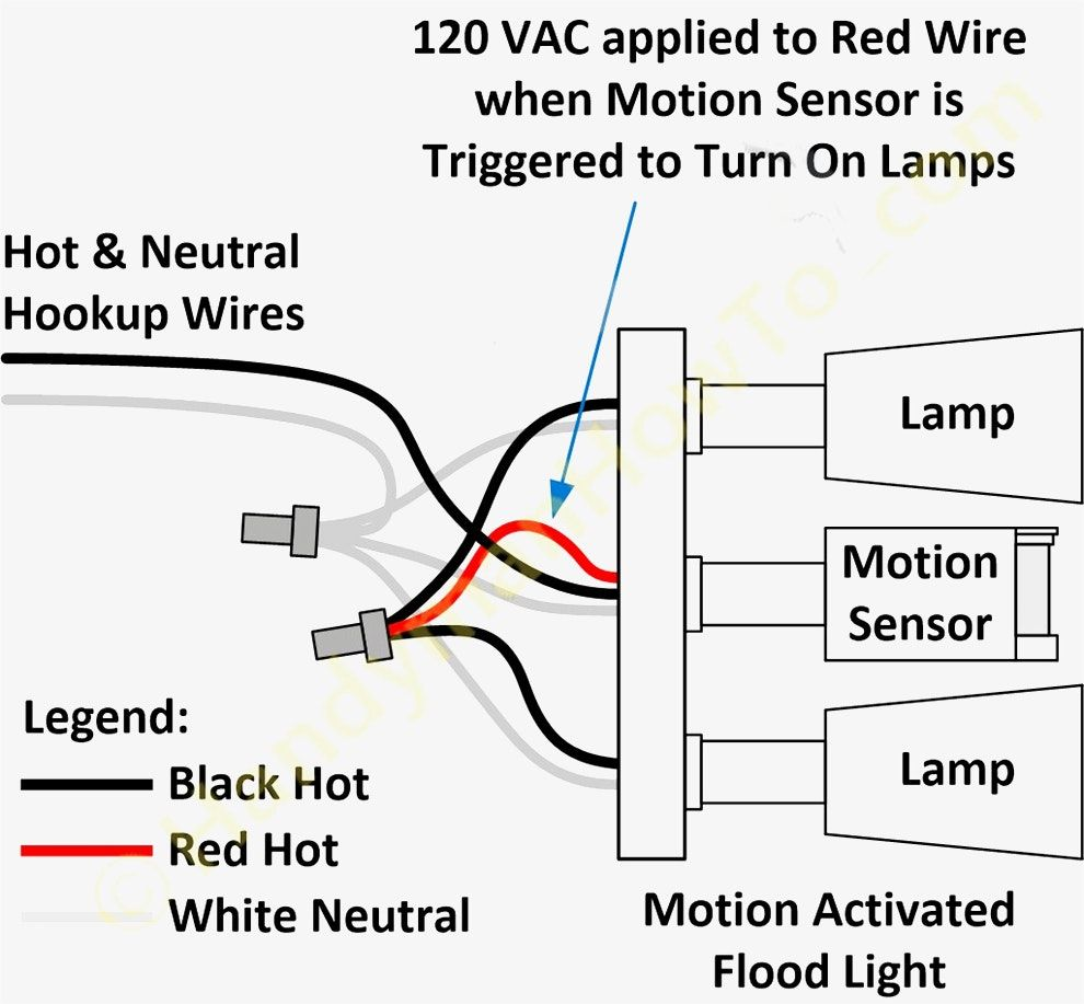 Motion Sensor Wiring Diagram Lovely Wiring Diagram For Motion Light Sensor Unusual Blurts Of