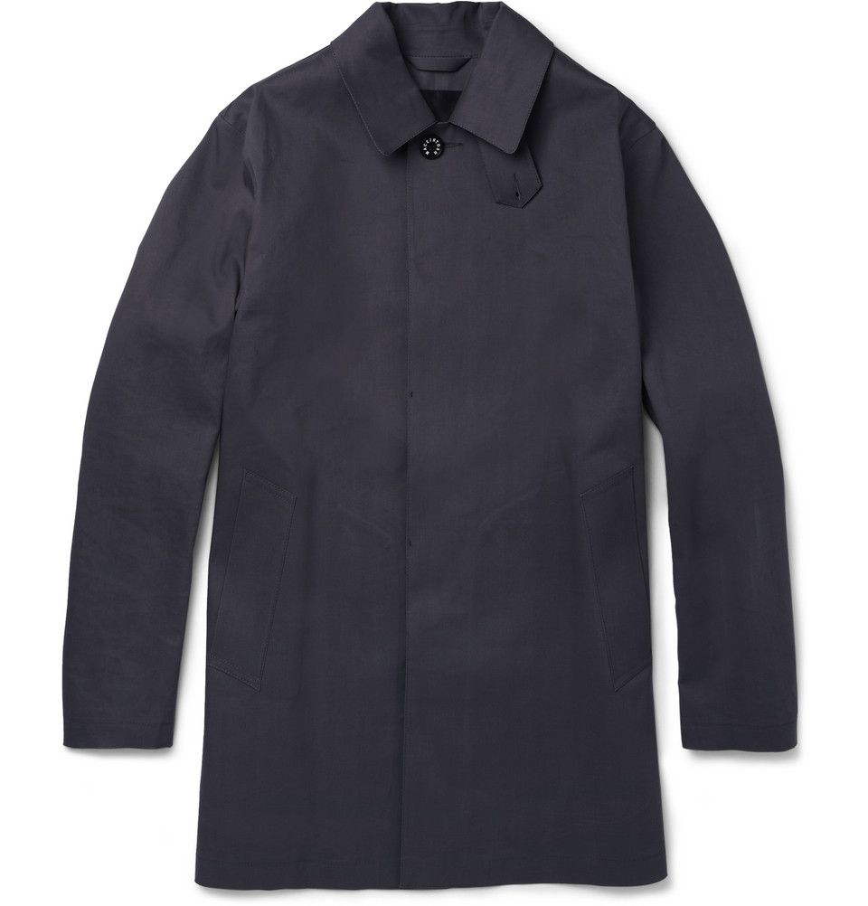 Mackintosh Dunoon Handmade Bonded-Cotton Rain Coat | MR PORTER