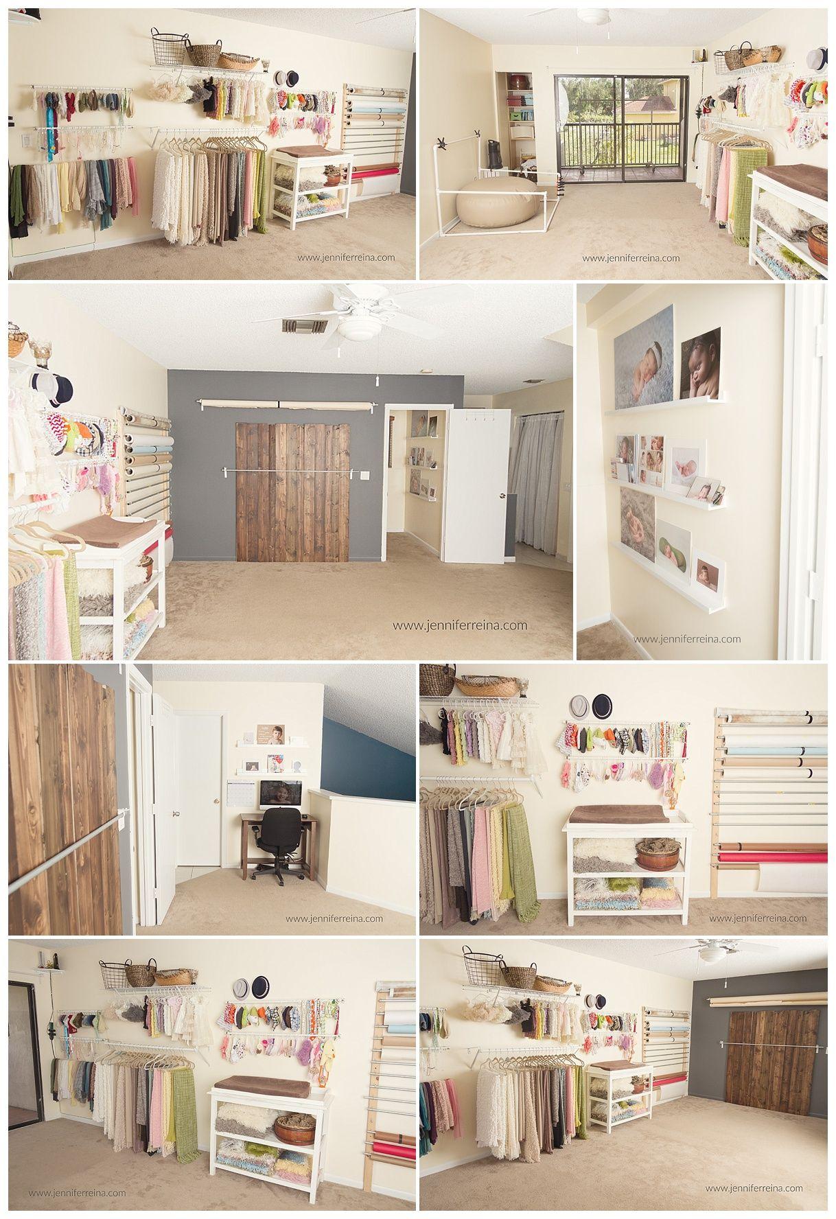 Small Newborn Studio Www Jenniferreina Com Home Studio Photography Photography Studio Design Photography Studio Spaces