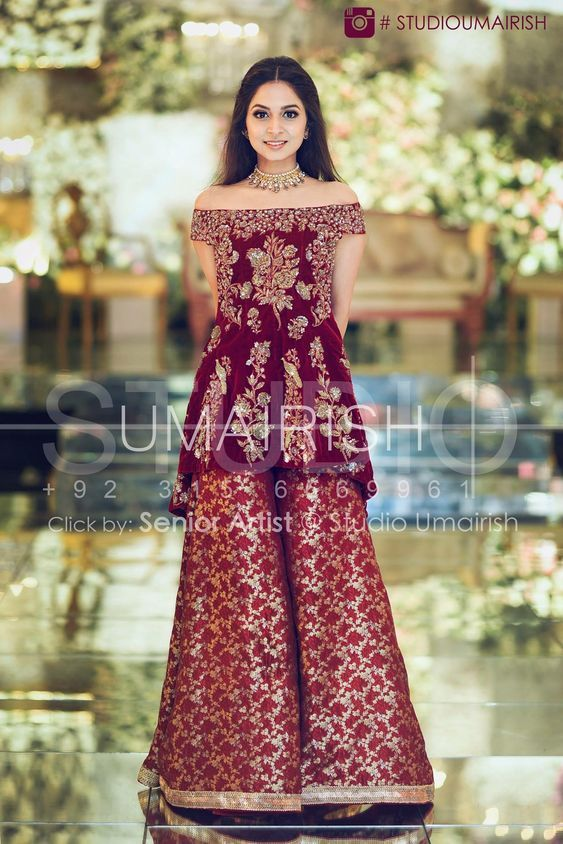 Winter Velvet Dresses Designs Latest Trends Collection ...