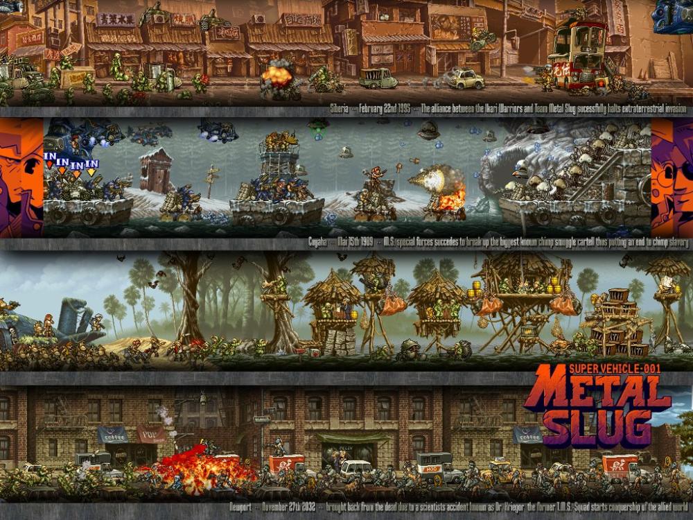 My Free Wallpapers Games Wallpaper Metal Slug Background Images Game Level Design Free Wallpaper