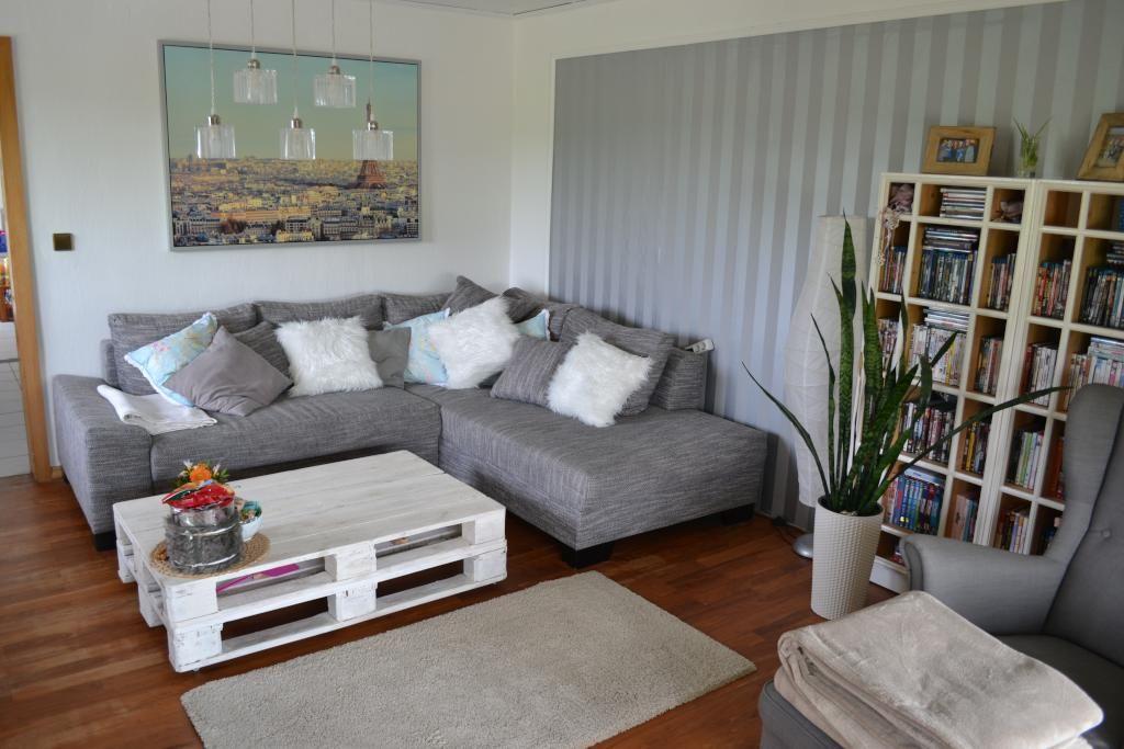 DIY Sofa Aus Europaletten Und Zwei Matratzen Couch Selfmade Paletten
