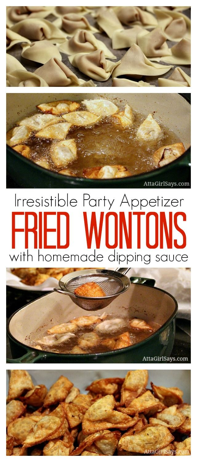 Worlds best party food ever recipe blogger recipes we love this is the absolute best party appetizer ever ive been using this same fried wontons recipe for 30 years i usually make a double batch for parties forumfinder Image collections