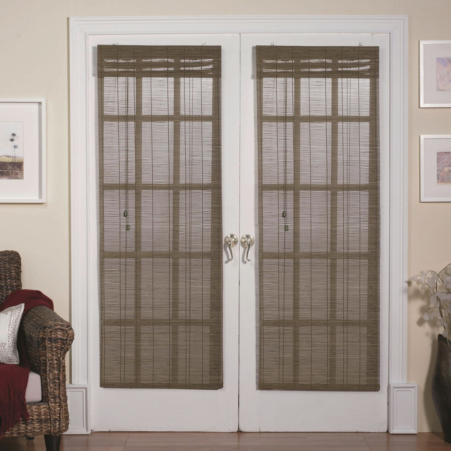 Bamboo Blinds For Patio Doors Patio Decor Pinterest