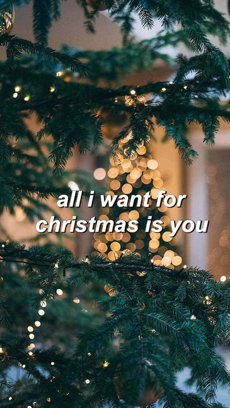 Cute Cozy Aesthetic Vsco Christmas Wallpaper All I Want For Christmas Is You M Wallpaper Iphone Christmas Cute Christmas Backgrounds Christmas Pictures Friends