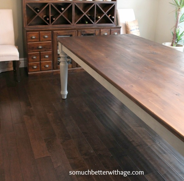 Dining Room Table Makeover images