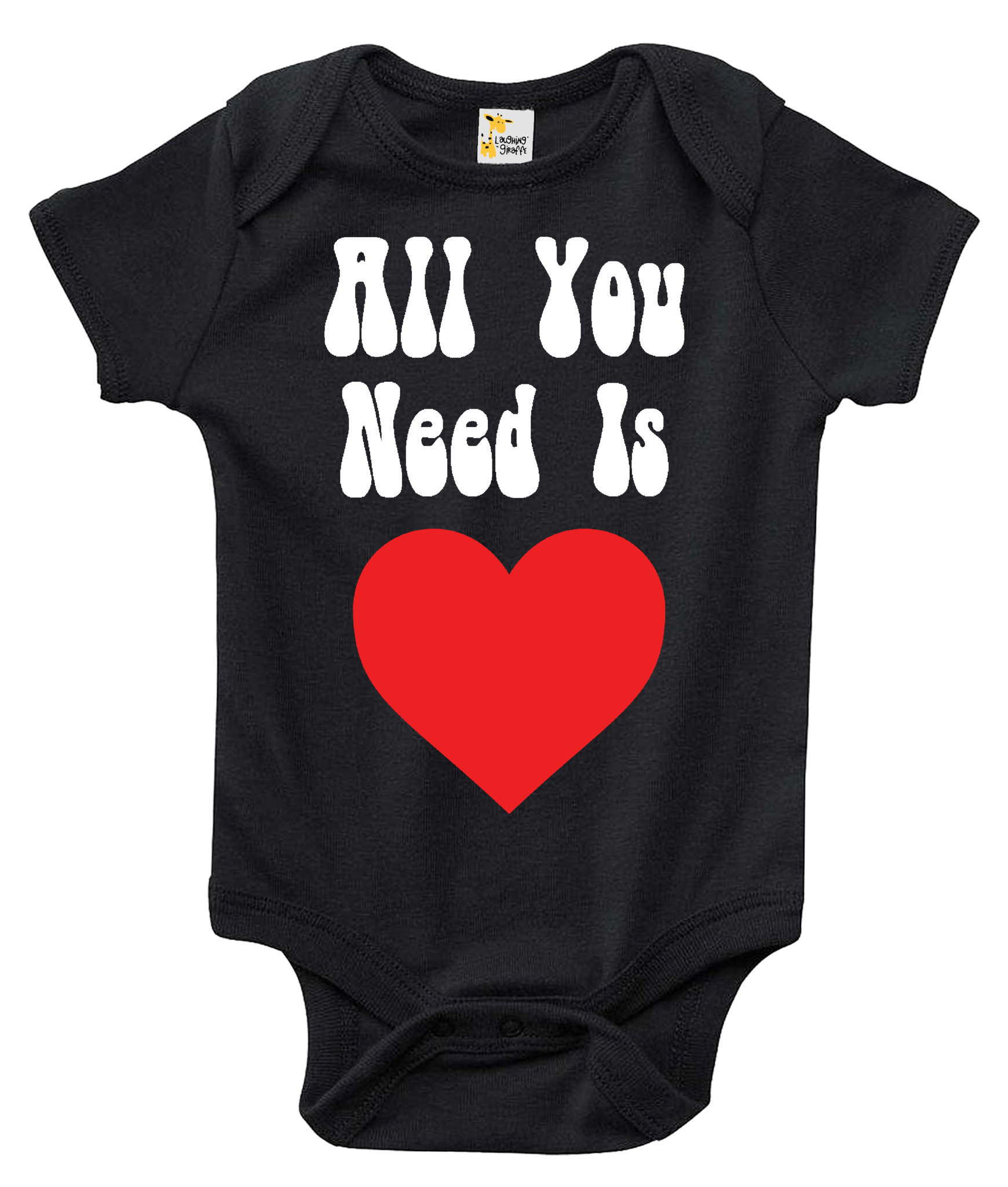 All You Need Is Love Baby One-piece Bodysuit