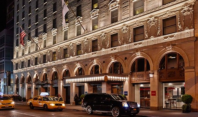 Paramount Hotel Times Square New York Paramount Hotel New York Hotels Times Square New York