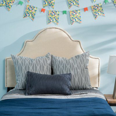Willa Arlo Interiors Corbett Upholstered Panel Headboard Upholstery ...