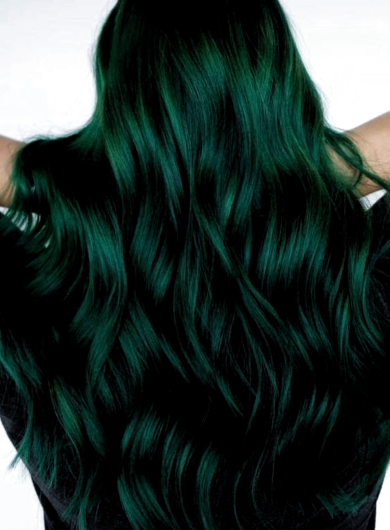 30+ Glamorous Green Hair Styles | green hair ideas ...