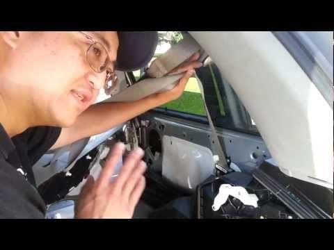 2007 Honda Odyssey Sliding Door Cable Tension
