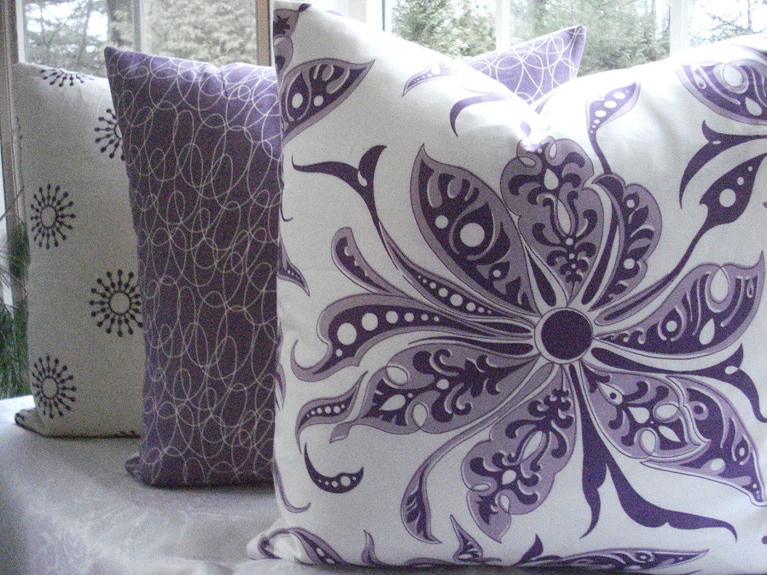 best  purple throw pillows ideas on pinterest  purple bedding  - purple throw pillows for couch