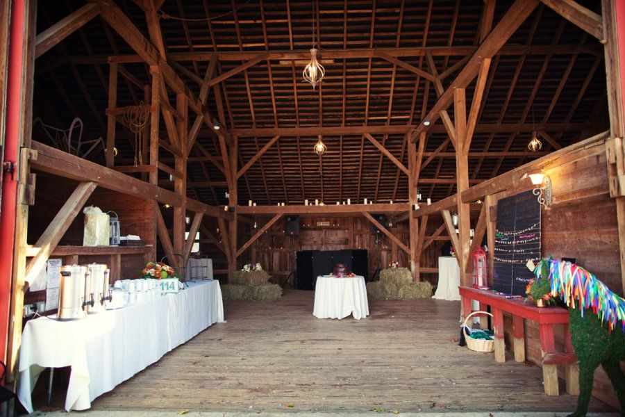 dinner and dancing in a barn dream weddings at the red
