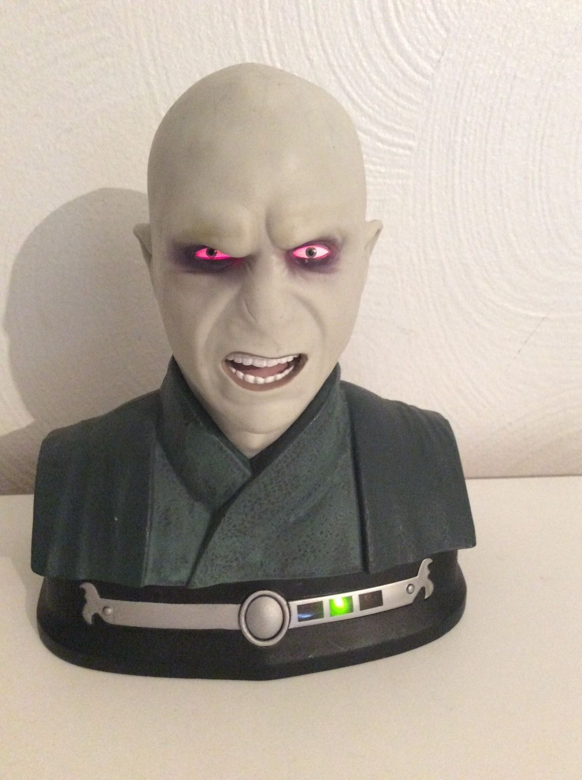 Rare Tomy Harry Potter Lord Voldemort Talking Head Bust