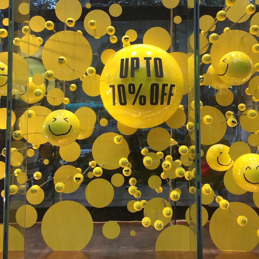 "LANE CRAWFORD, Hong Kong, China, ""Spring SALE Up To..."", pinned by Ton van der Veer"