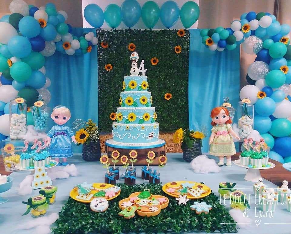 Frozen Fever Party Birthday Party Ideas Disney Frozen Birthday