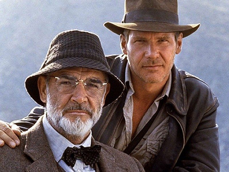 7b1a5a68f26 Ford initially didn t want Sean Connery cast as his father in The Last  Crusade because Connery was only 12 years older and the father son  relationship ...