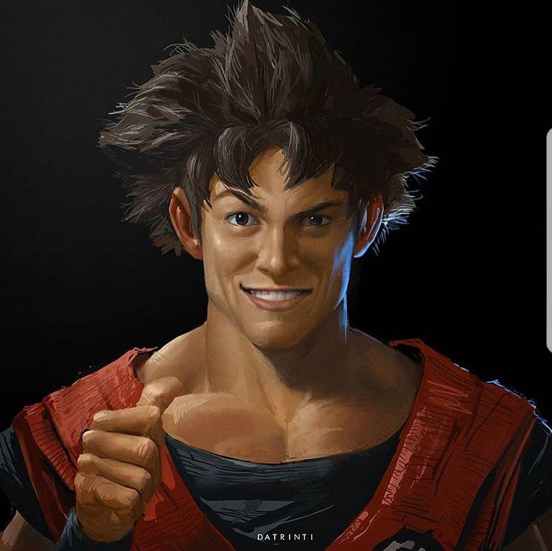Goku's Signature Thumbs-Up