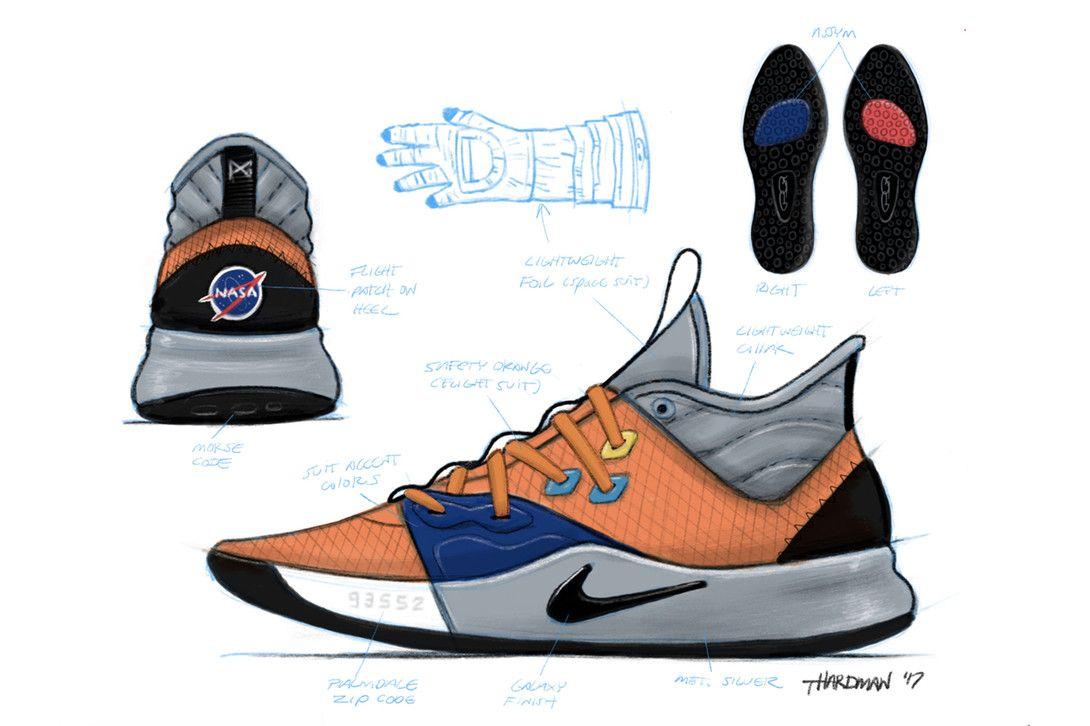 newest e0c0f 2477a 與 NASA 聯手!Paul George 最新個人鞋款 Nike PG3 正式發佈 ...