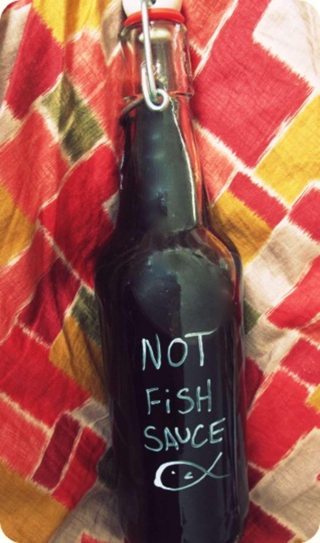 Recipe Vegan Fish Sauce With Images Vegan Fish Vegan Sauces Fish Sauce