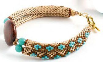 Beading Adventures with Flat Peyote Stitch - Beading Daily