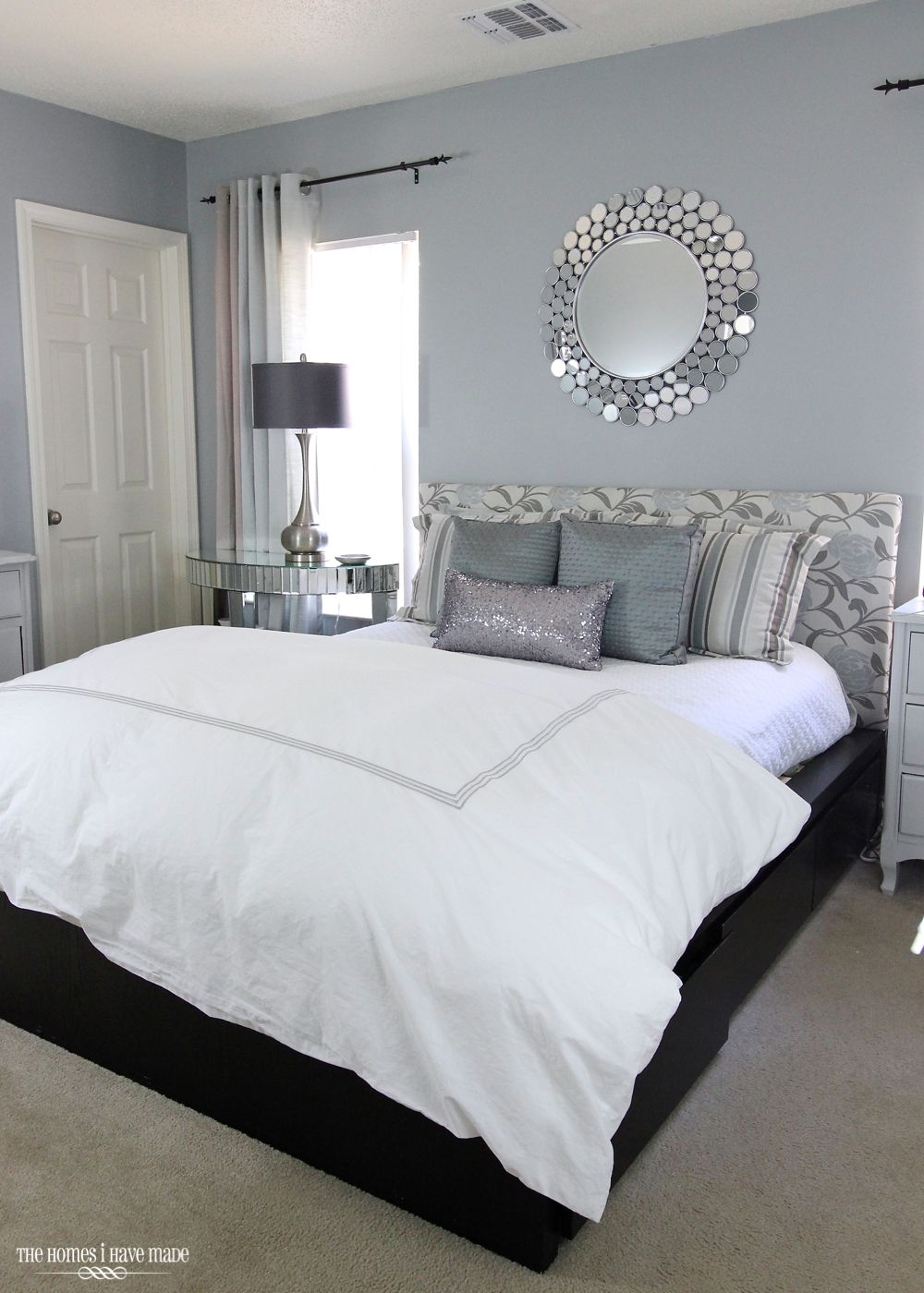 Best Modern And Glam Master Bedroom Reveal Home Bedroom Home 400 x 300