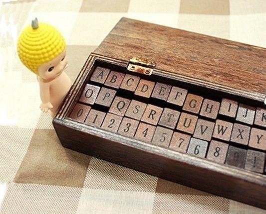 Antique Alphabet