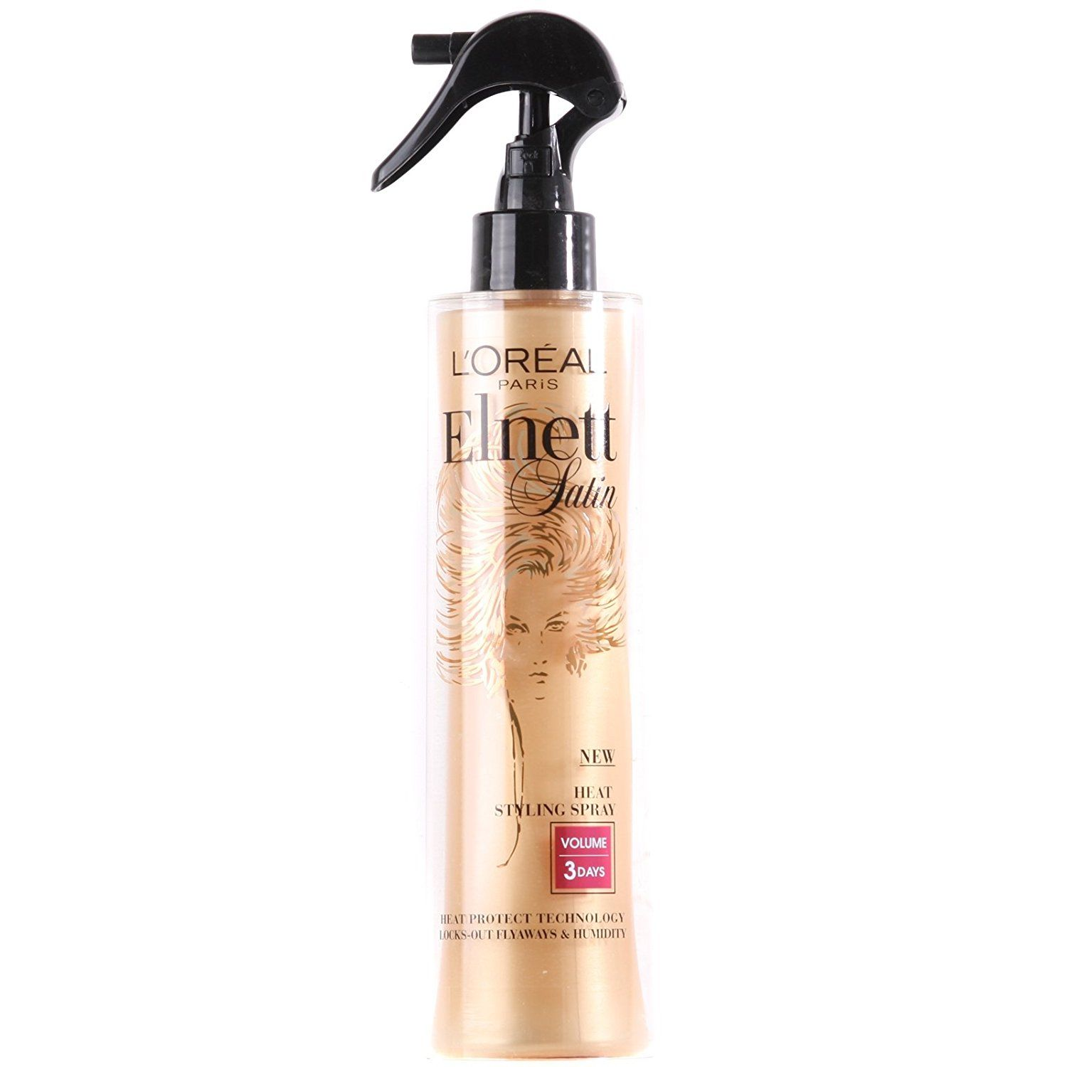 Elnett By L Oreal Paris Heat Protect Styling Spray Volume 170ml This Is An Amazon Affiliate Link For More Information Loreal Paris Loreal Styling Sprays