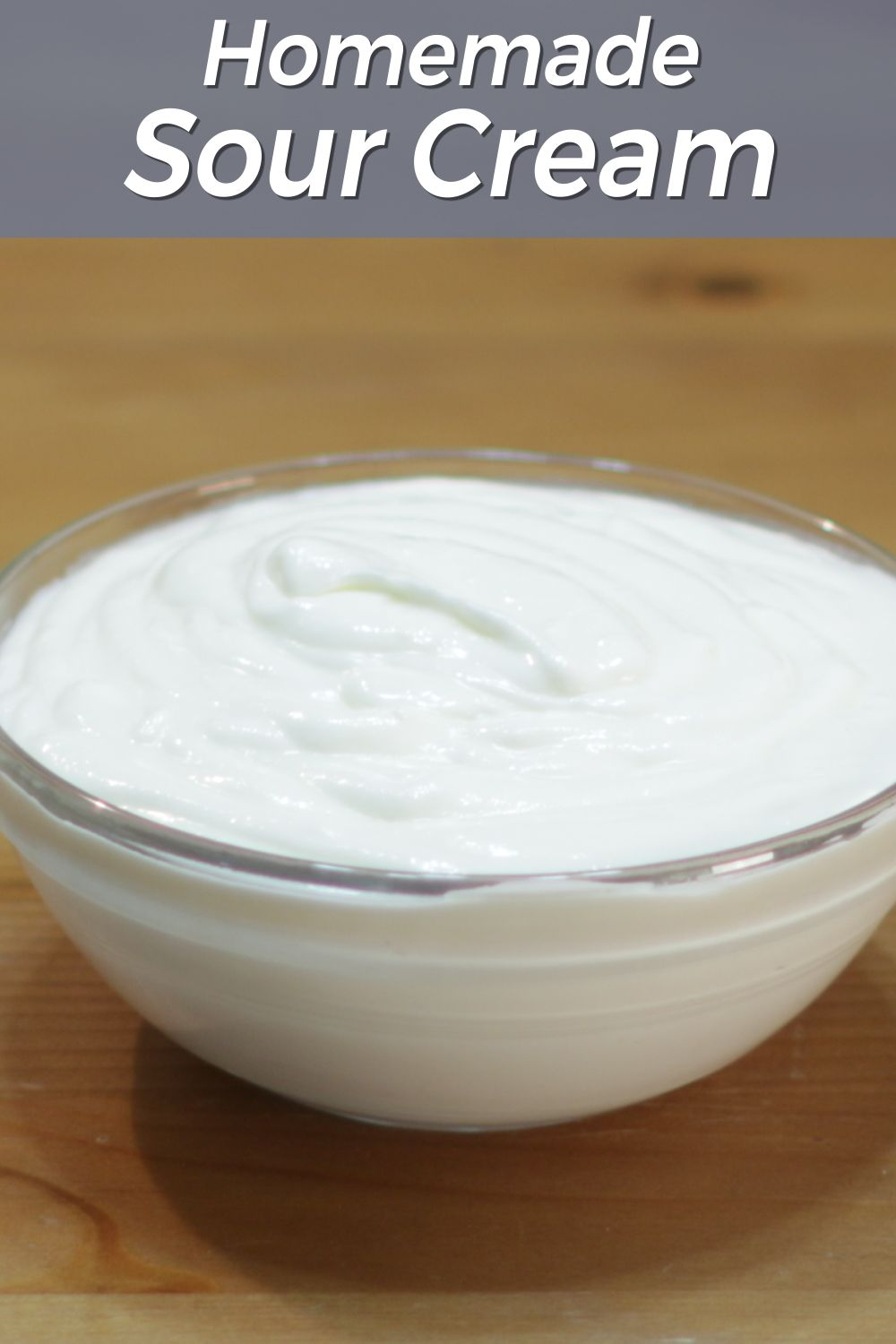 Easy Homemade Sour Cream In The Kitchen With Matt Recipe In 2020 Homemade Sour Cream Homemade Sour Cream Recipe Sour Cream Recipes