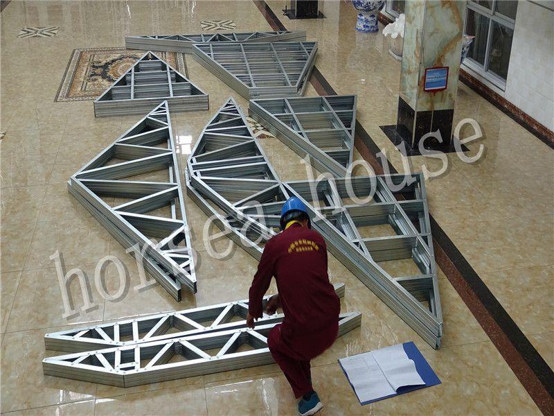 charpente metallique schema Toiture Pinterest Construction
