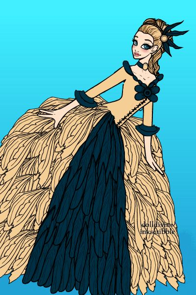 Madame de pompadour ~ Lady Grace ~ created using the Neptune's Daughter doll maker | DollDivine.com