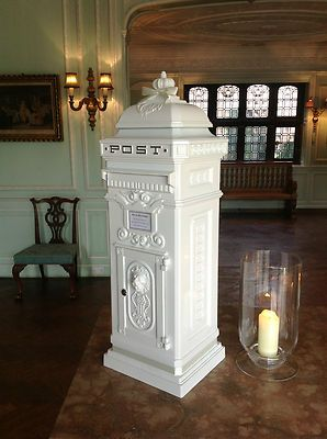 Victorian Royal Mail Wedding Post Box For Hire