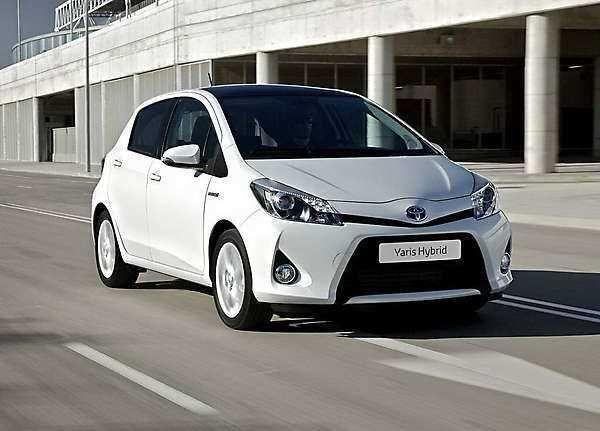 2018 2019 Toyota Yaris Hybrid New Economical Hybrid 2018 2019