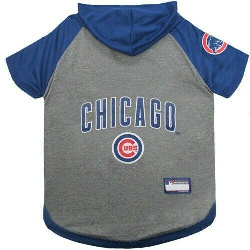 premium selection 9d9d5 7708b Chicago Cubs Dog HOODIE T-SHIRTS MLB baseball SM Size ...