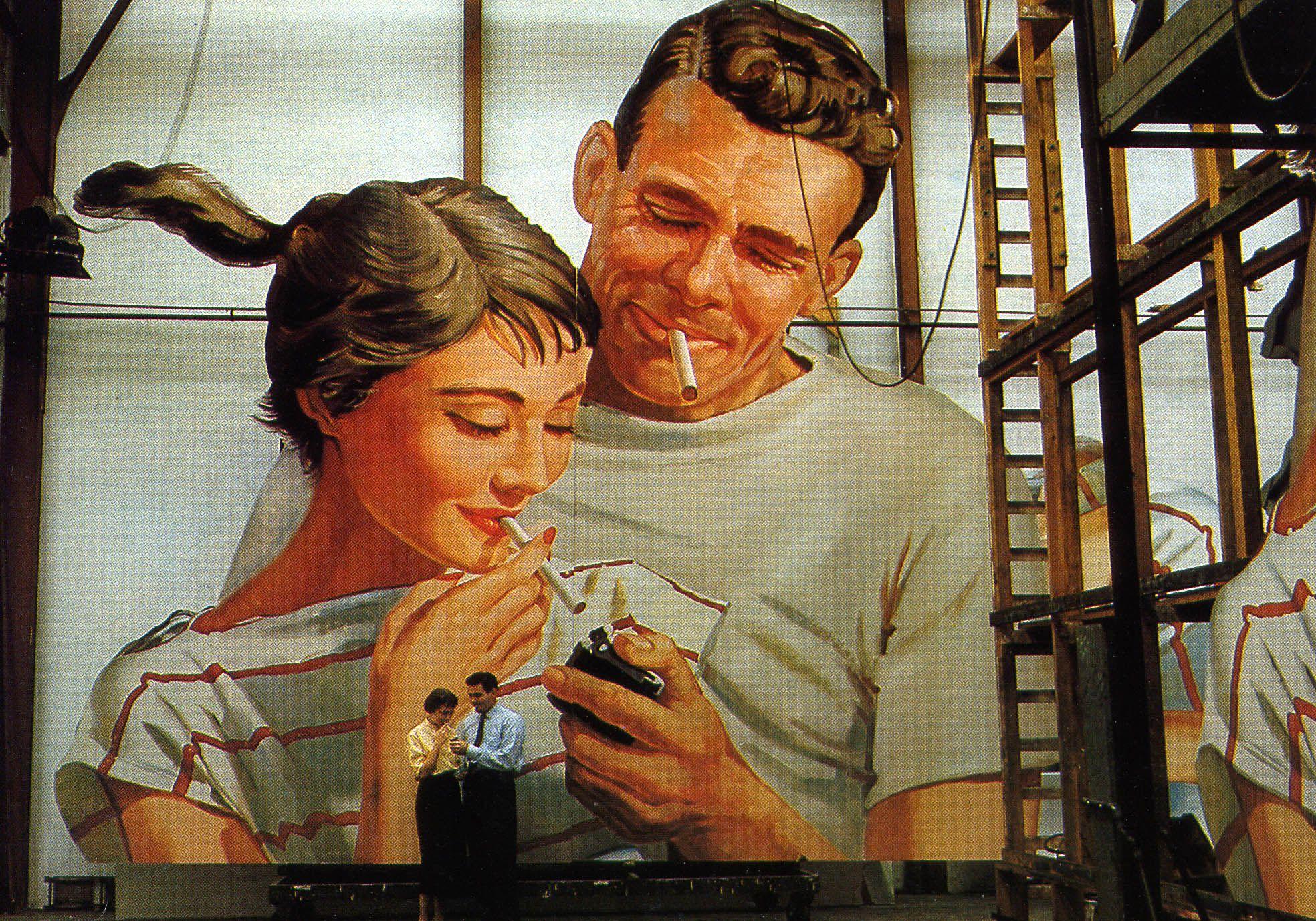 1950s billboard