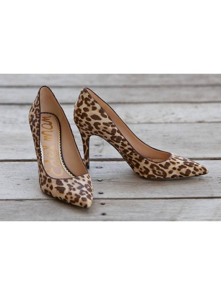 2c8b6d0ae944 Sam Edelman - Margie Pointed Toe Pump - Nude Leopard | + SHOE ...