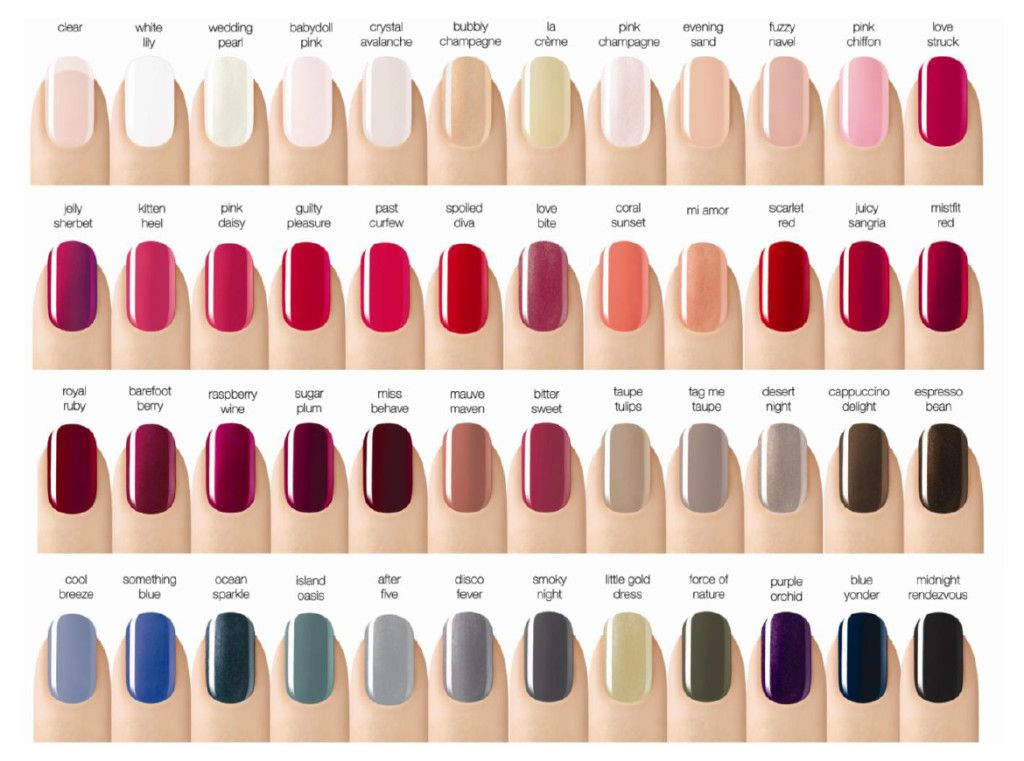 Best New Nail Colors For Fall Beauty Nails Nail