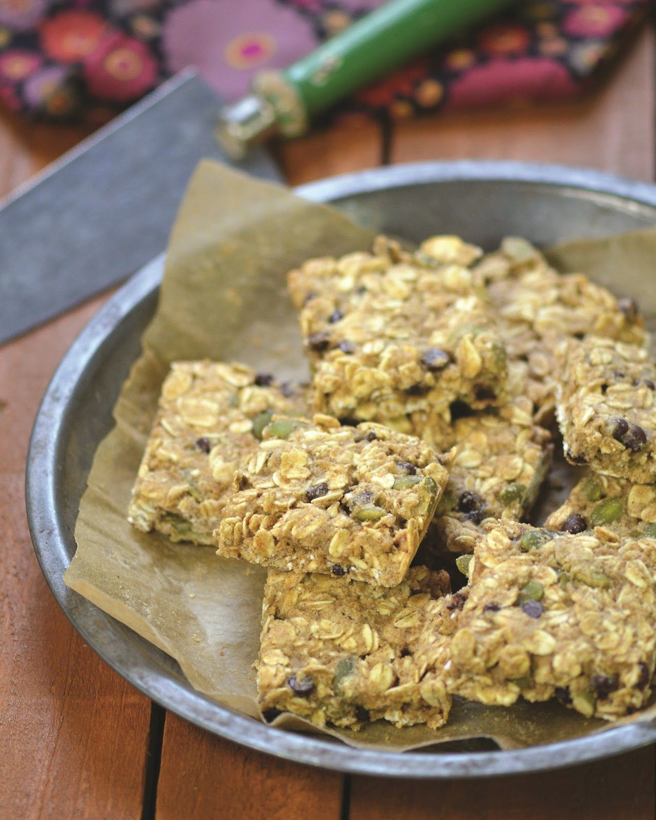 Pumpkin seed and chocolate chip oatmeal breakfast bars the china almost skinny vegan food the china study all star collection free recipe pumpkin seed and chocolate chip oatmeal breakfast bars forumfinder Gallery