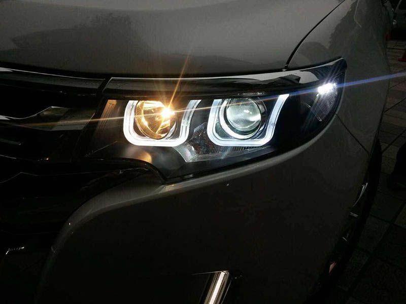 Ford Edge Hid Headlights Bi Xenon Projector Led Drl Google Search