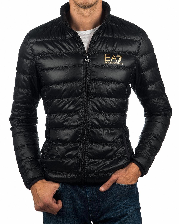 EA7 Emporio Armani Down Jacket - Black \u0