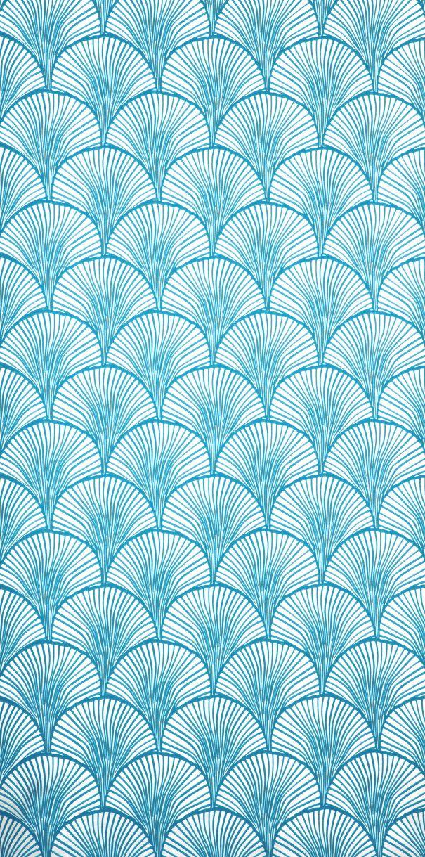 Une tr s belle tapisserie inspir e de motifs japonais - Motif tapisserie ...
