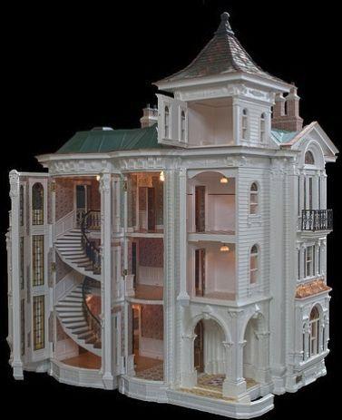 35+ DIY Miniature Doll Houses #dollhouse