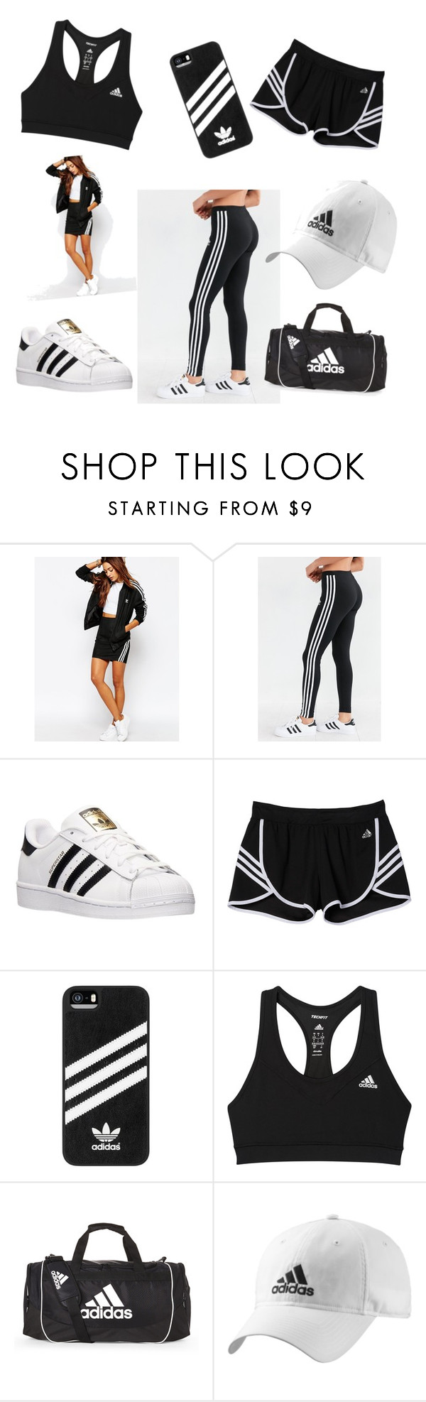 """""""Adidas❤️"""" by libby-hearsum ❤ liked on Polyvore featuring adidas"""