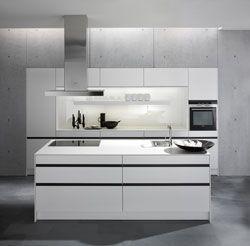 Ideen · Weiße Kücheninsel Von SieMatic