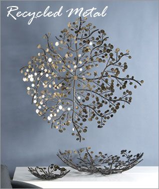 Recycled metal home furniture and accents shopinspiredliving.com ...