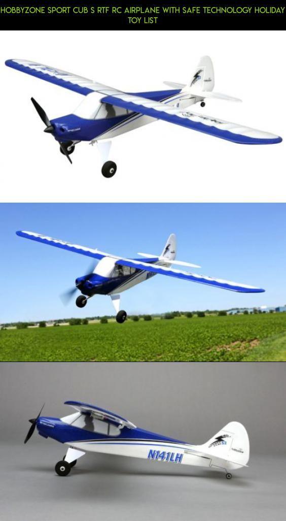 Hobbyzone Sport Cub S RTF RC Airplane with SAFE Technology Holiday