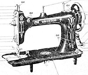Damascus sewing machine manual (smm266pdf) (Image1