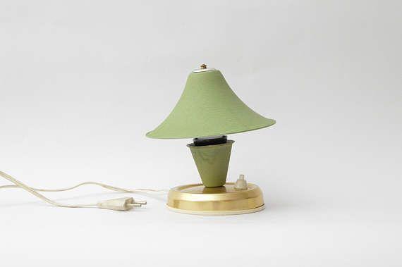 Vintage Bedside Lamp Made In Yugoslavia Zagreb Etsy Vintage Table Lamp Lamp Vintage Bedside