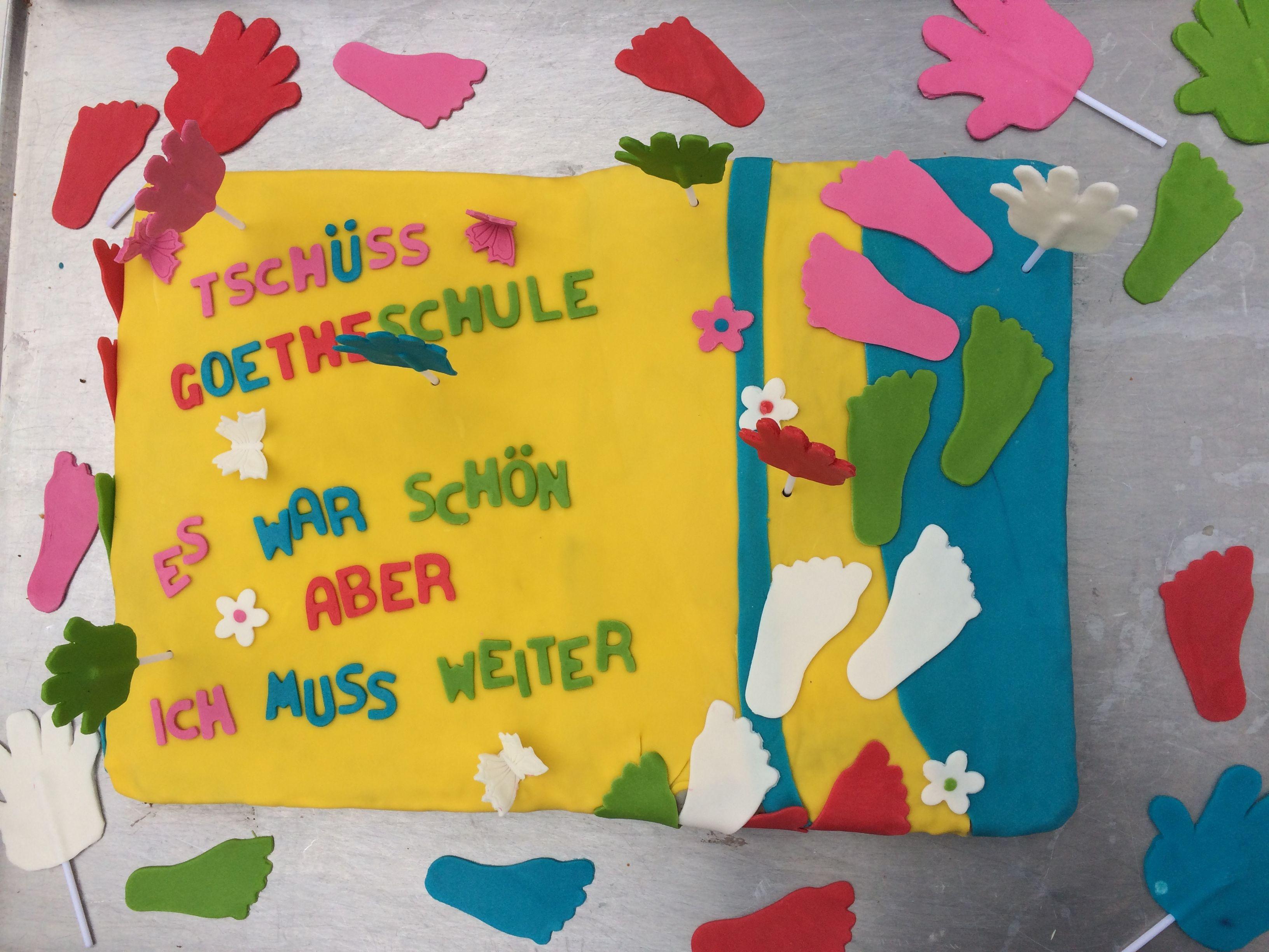 Abschiedstorte Grundschule Abschiedstorte Torten Grundschule